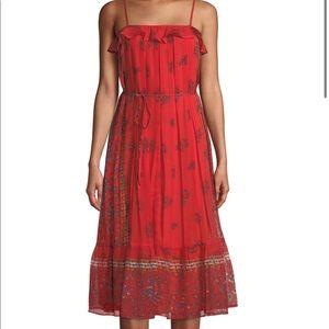 NWT Endless Rose Midi Dress Size M